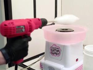 Cotton candy machines help create artificial organs