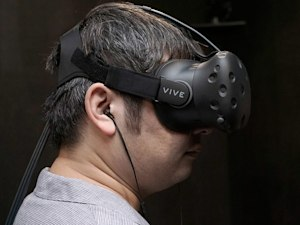 The HTC Vive isn't limited to perfectly square rooms