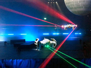 'Star Wars' drones can do aerial stunts and shoot lasers