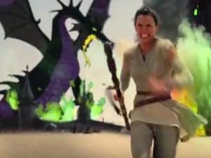 'Star Wars: The Force Awakens' Gets an Amazing Disney Mashup