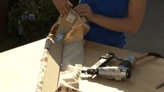How to Turn a Table Runner Into a Valance