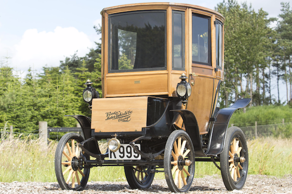 1905 Queen Victoria 214A Brougham sold at auction