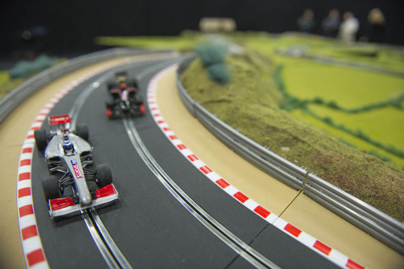 Ultimate Scalextric track up for auction