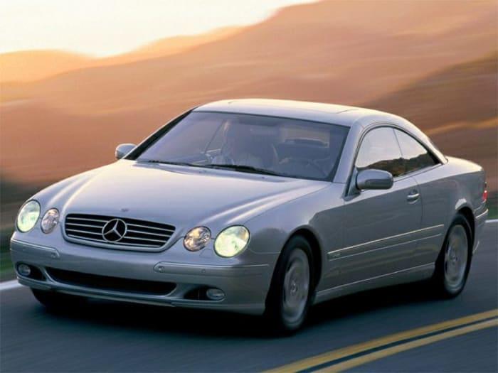 2002 Mercedes Benz Cl Class Information