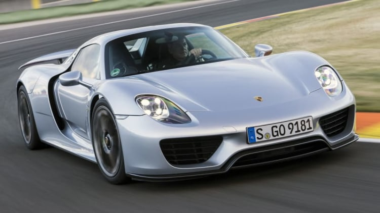 Porsche to replace chassis components in 918 Spyders