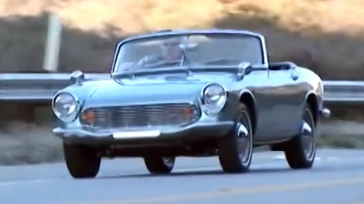 1964 Honda SM600 roadster gets elemental in Jay Leno's Garage