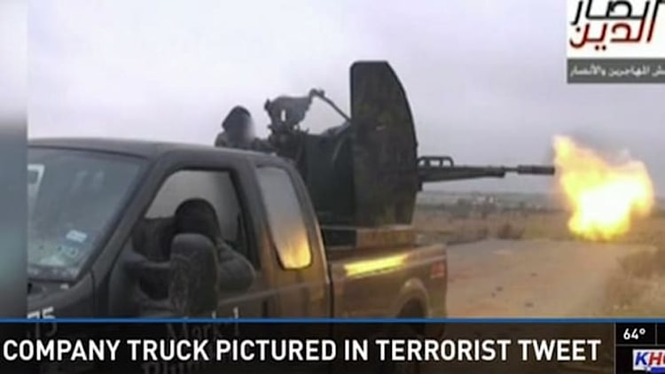 Texas plumber shocked his old Ford F-250 is now in terrorists' hands [w/video]