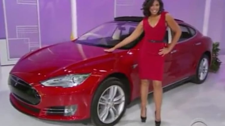 The Price Is Right plays One Away with Tesla Model S