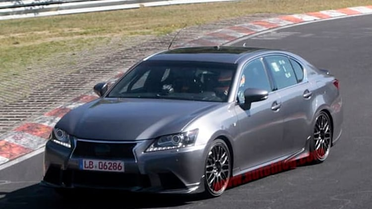 Lexus GS F coming in 2016 with 500 hp