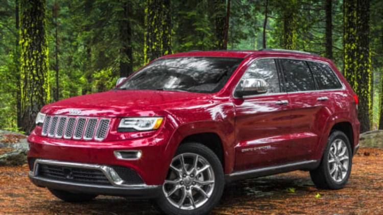 Jeep Grand Cherokee, Dodge Durango to lose color options temporarily
