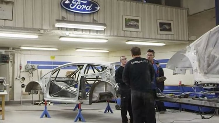 Ford opens the doors on its Swedish rally skunkworks