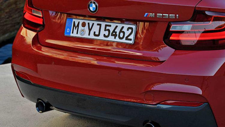 BMW 2 Series to wear 230i, M240i nameplates