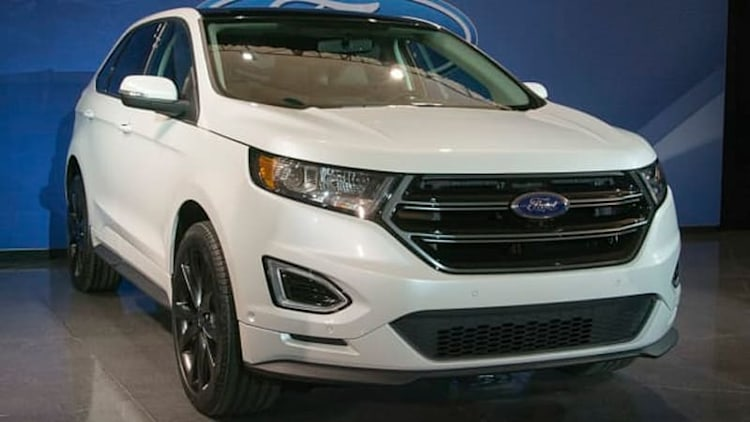 Ford readying three-row Edge for China