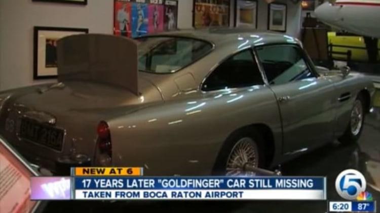 James Bond's Goldfinger Aston Martin still missing after 17 years