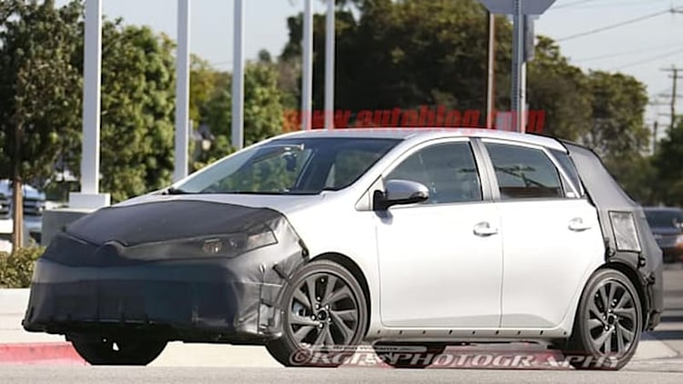 Scion iM spied testing in US in more production-ready guise
