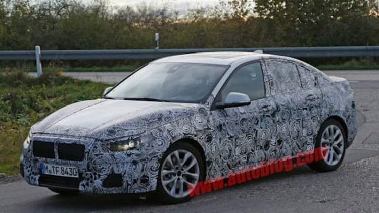 BMW 1 Series sedan interior revealed