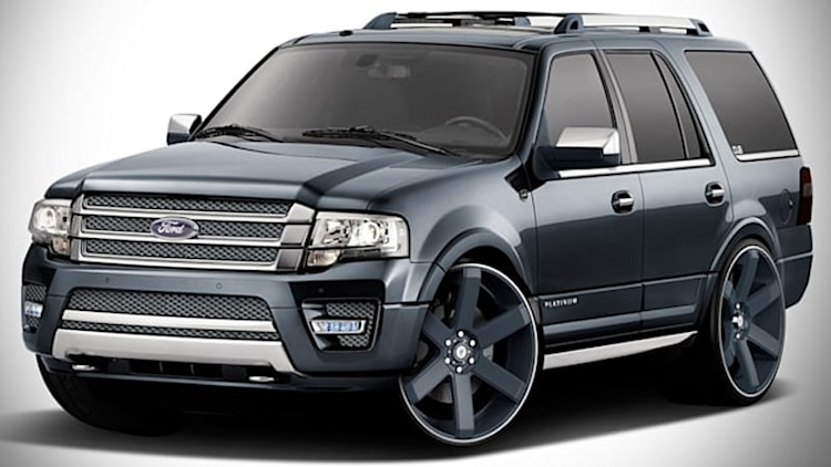 Ford spills SEMA all over its Expeditions
