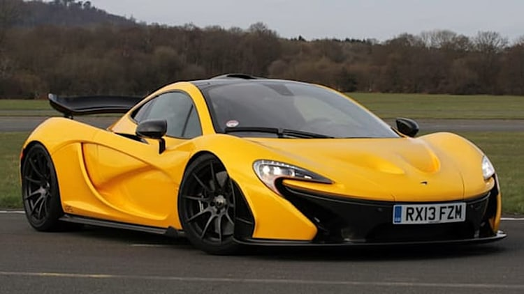 McLaren P1 crashed by 27-year-old driver a day after he bought it