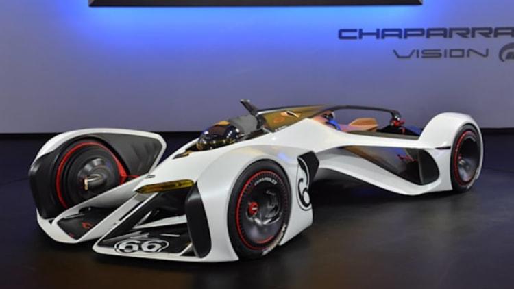 Weekly Recap: Racing legend Jim Hall explains Chevy's futuristic Chaparral concept