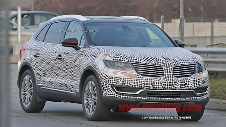 2016 Lincoln MKX spied in production form
