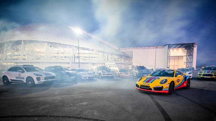 Porsche slathers Martini livery on 911, Panamera, Macan and Cayenne