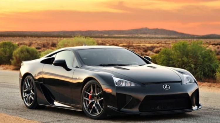 Lexus talks LFA successor
