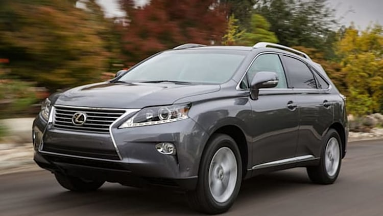 Lexus RX replacement to debut in Detroit?