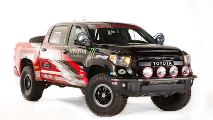 Toyota SEMA cars include Tundra for Baja and wacky DUB Edition Yaris