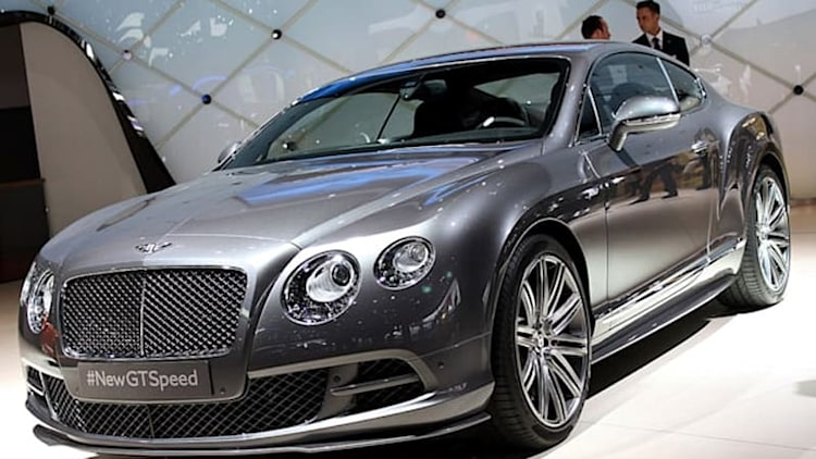 2014 Bentley Continental GT Speed arrives as the fastest Flying B to date