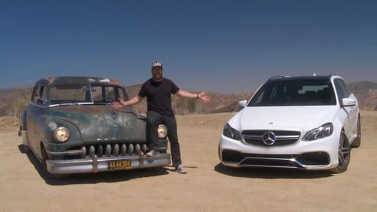 Mercedes E63 AMG Wagon pitted against Icon Derelict