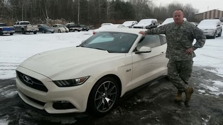 Ford reserving 50th Anniversary Mustangs for service members