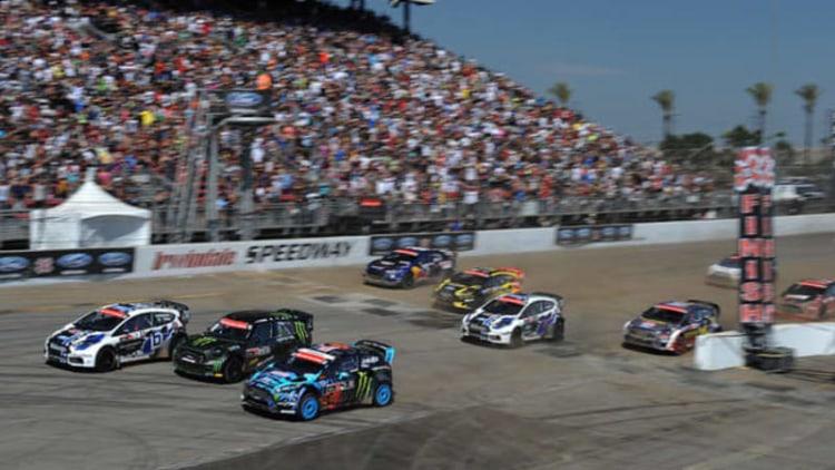 X Games LA Global RallyCross race breaks records, cars [w/video]