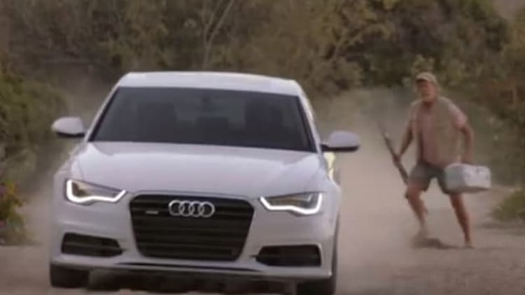 Audi revisits Ahab on desert island paradise in new ad