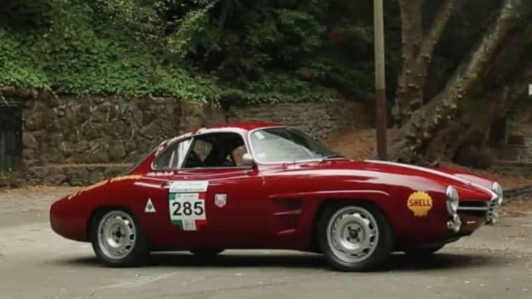 Alfa Sprint Speciale racer looks fantastic, sounds even better