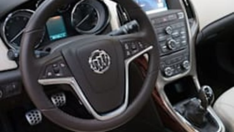 2015 Buick Verano offered with six-speed manual after all