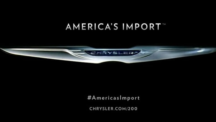 Is Chrysler's 'America's Import' campaign outdated or offensive? [w/poll]