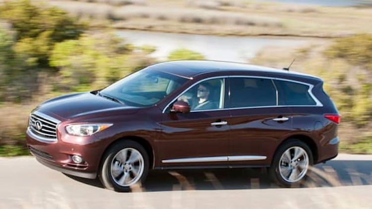 Nissan Rogue, Pathfinder and Infiniti QX60 recalled for loose lug nuts