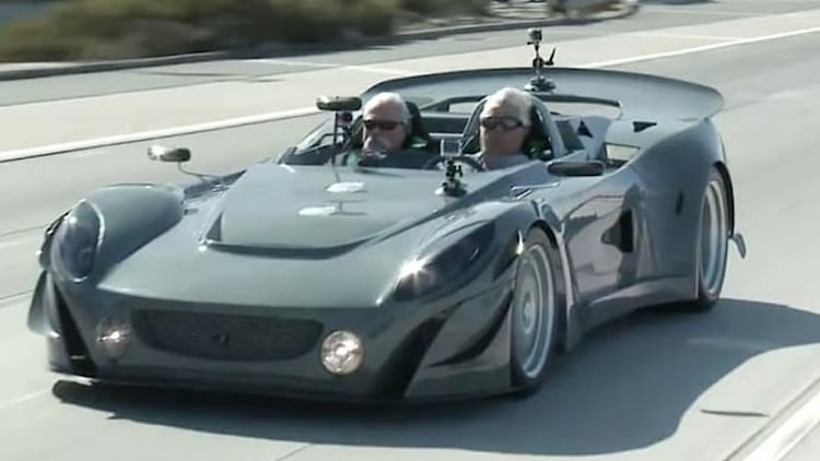 Jay Leno checks out Ronin RS 211, a Lotus Elise transformed