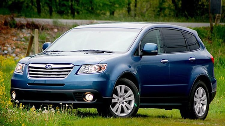 Plans for 7-seat Subaru Tribeca replacement becoming clearer