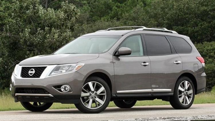 2013 Nissan Pathfinder: July-September 2013