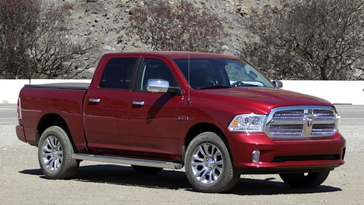 Ram thinks EcoDiesel will lure small-pickup buyers into fullsize 1500
