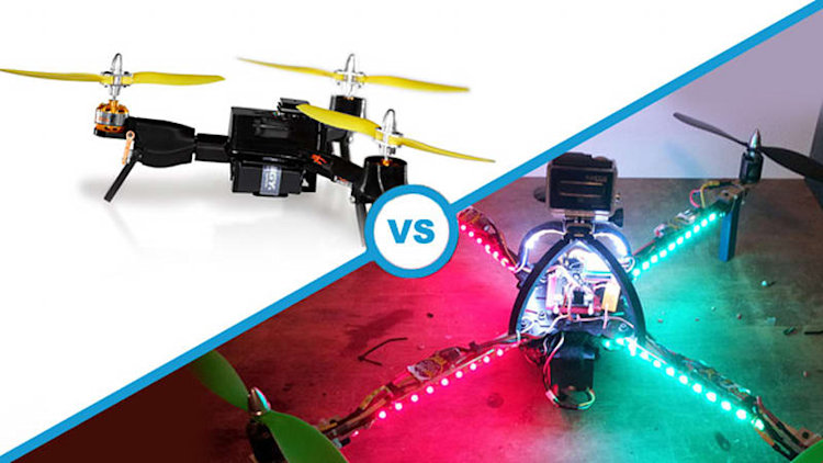 Crowdfunding Combat: ATLAS Heavylifting Multicopter vs. The Pocket Drone