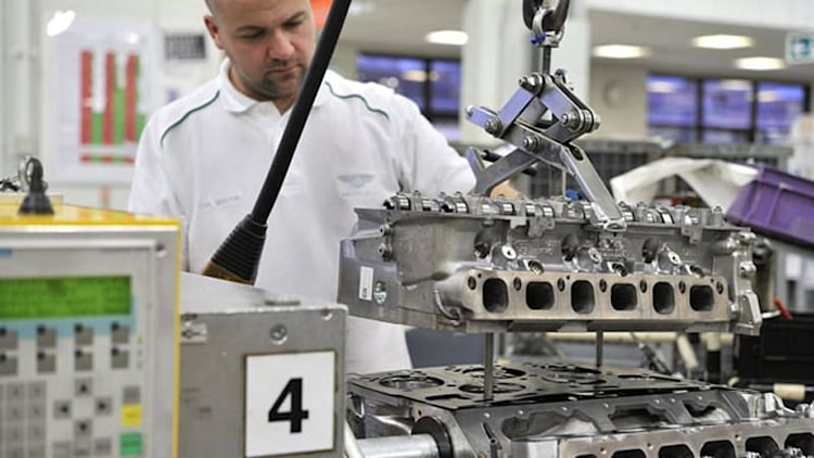 Bentley shifting W12 engine production to UK