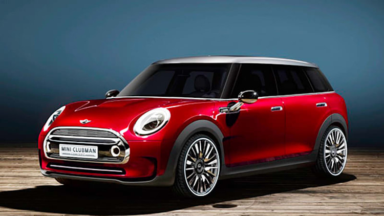 Mini Clubman Concept throws open all six of its doors for Geneva