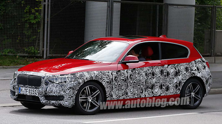 Europe's BMW 1 Series hatch caught looking fresh faced