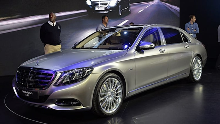 2016 Mercedes-Maybach S600 is a silver arrow aimed at Bentley [w/video]