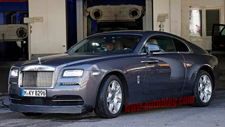 Rolls-Royce spotted testing even sportier Wraith