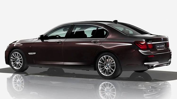 BMW bringing special Horse Edition 7 Series to Beijing