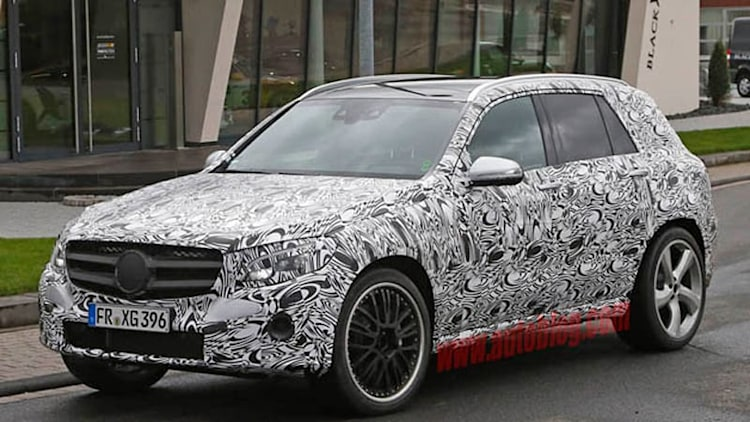 Mercedes-AMG spotted testing GLC63 at the 'Ring