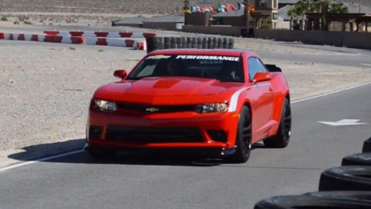 On Location: 2015 Chevy Colorado and Camaro at Spring Mountain